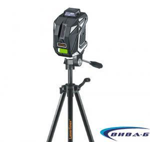 Зелен линеен лазер X1-Laser комплект с тринога FixPod 155 cm