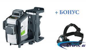 Зелен линеен лазер SuperPlane-Laser 3G Pro + БОНУС челник Walther Pro HL17