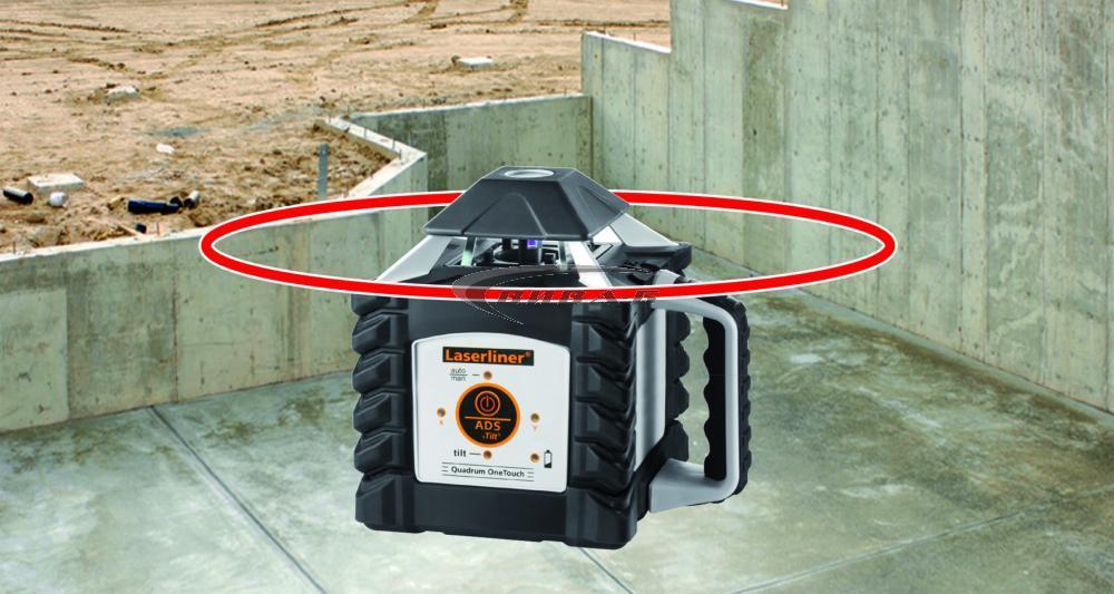 Ротационен лазер Quadrum OneTouch 400 Pro S 4