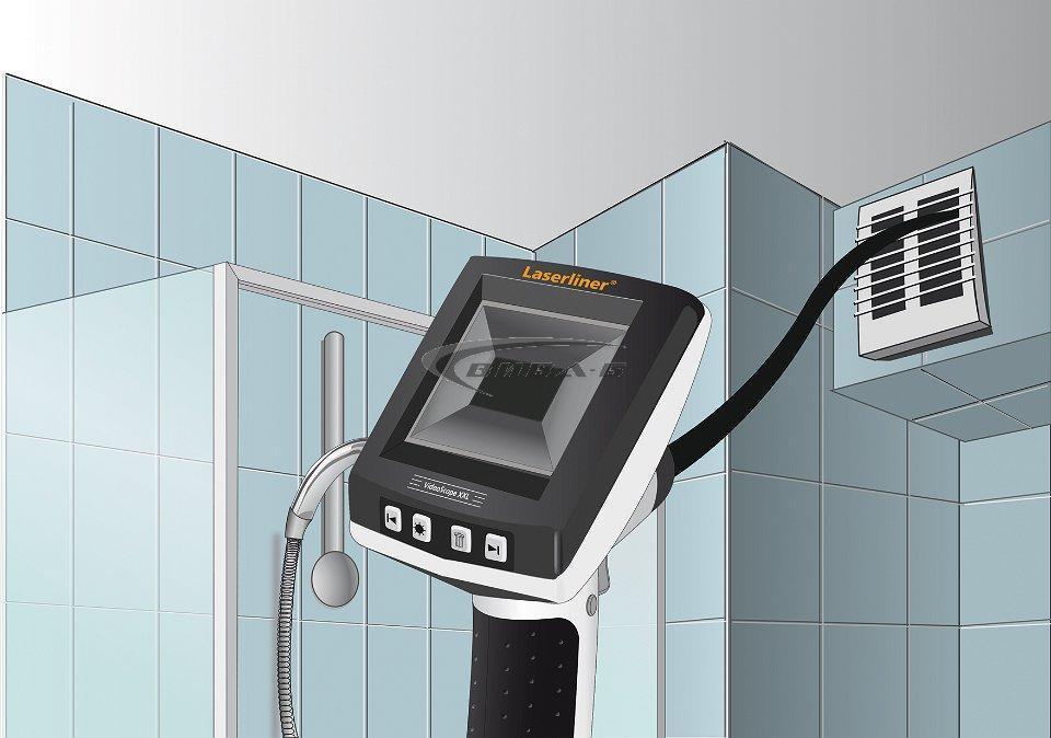"""Видеоконтролер Laserliner VideoScope XXL 9mm, 5m, 3.5"""" 5"""