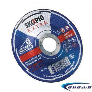 Карбофлексов диск за рязане на инокс SwatyComet Skorpio Extra 125х0,75х22