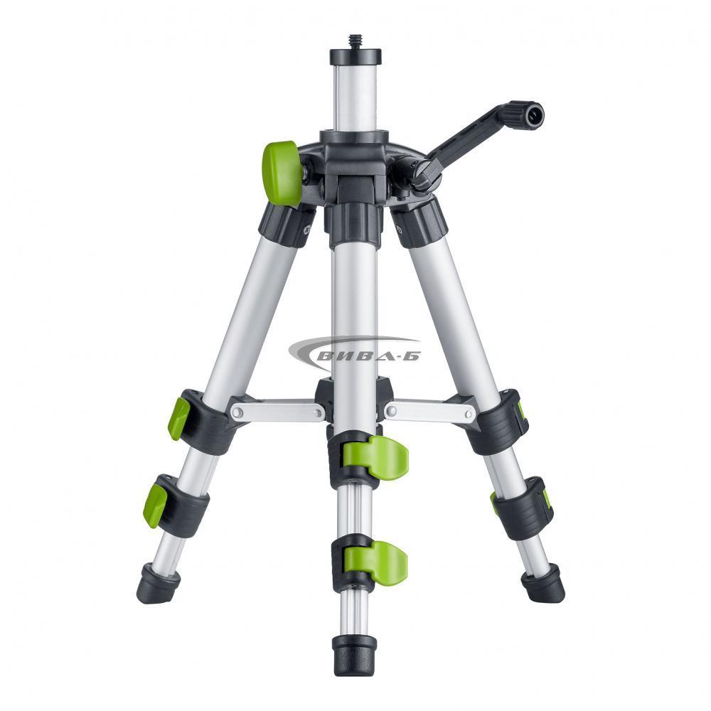 Зелен линеен лазерен нивелир CompactCross-Laser Pro Set 11