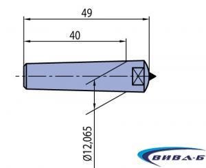 Диамантен изравнител Morse MK1 K101 1.25kt
