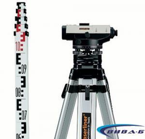 Оптичен нивелир Laserliner AL 26 Classic комплект с тринога и лата