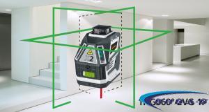 Зелен линеен лазер X2-Laser 10