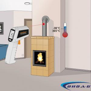 Безконтактен термометър ThermoSpot Plus + БОНУС ClimaCheck 10