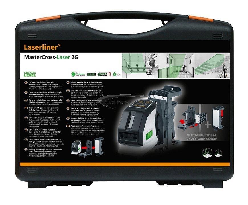 Линеен лазер MasterCross-Laser 2G 1