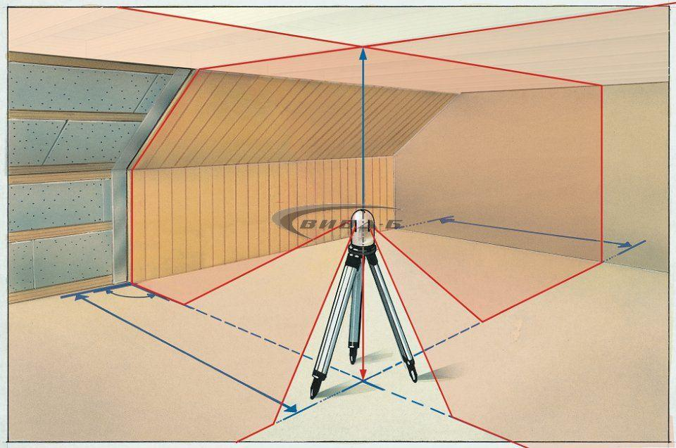 Линеен лазер PowerCross-Laser 8 S + ПОДАРЪК Влагомер DampCheck 10