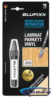 UV ремонтен гел BLUFIXX за ламинат, паркет, винил, бук, 5гр, резервен пълнител