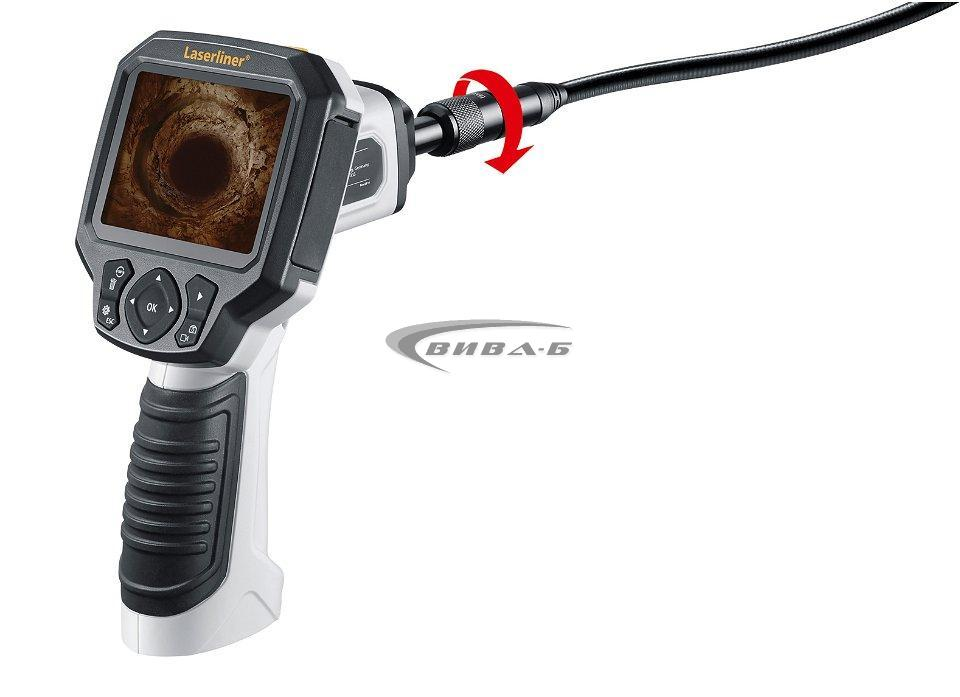Видеоконтролер Laserliner VideoFlex G3 9 мм 1,5м +БОНУС Walther Pro HL17 8