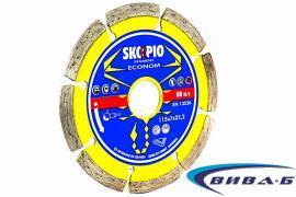 Диамантен диск за рязане на бетон  Econom Segment 115