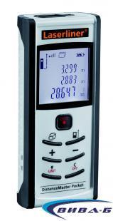 Лазерен далекомер-ролетка Laserliner DistanceMaster Pocket