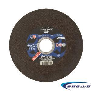 Карбофлексов диск за рязане на стомана и инокс SwatyComet  Specialultracut 125х1х22