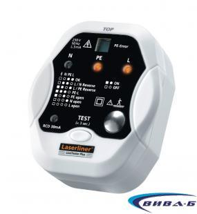 Тестер за електрически инсталации LiveTester Plus 2