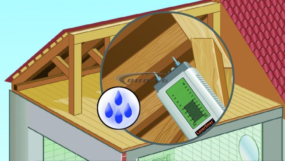 Влагомер Laserliner DampFinder Compact 2