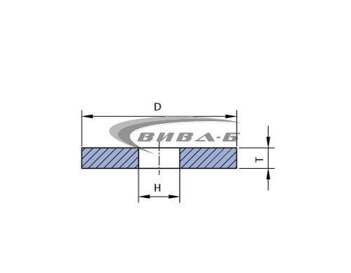 Абразивен диск за заточване на вериги 40A60 140х3,8х12 1