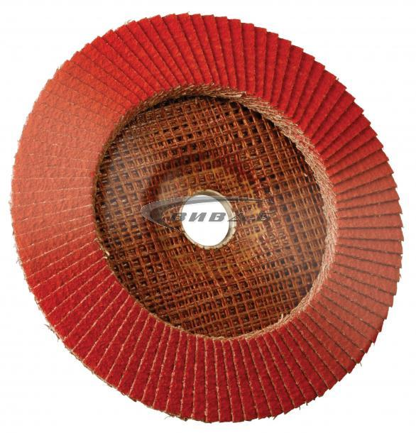 Ламелен диск от керамична шкурка 125х22 Р60