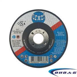 Карбофлексов диск за шлайфане на метал SwatyComet Flexco 125х6,5х22