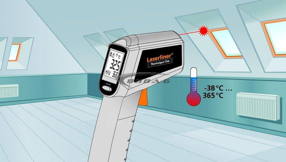 Безконтактен термометър ThermoSpot Plus + БОНУС ClimaCheck 7