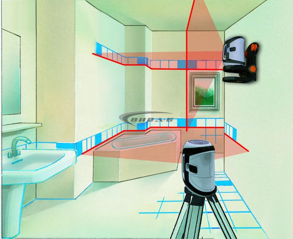 Линеен лазерен нивелир SuperCross-Laser 3 4