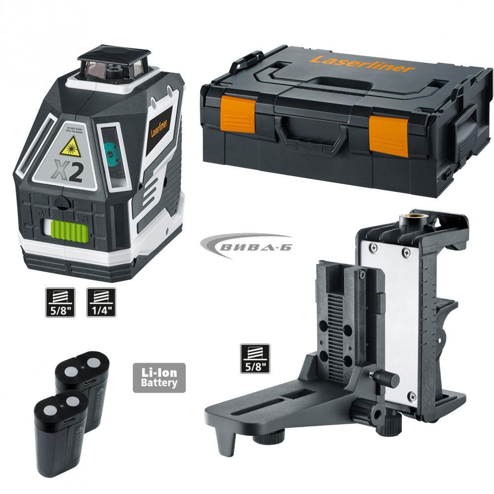 Зелен линеен лазер X2-Laser 9