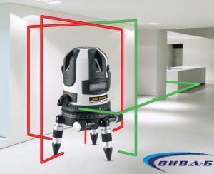 Зелен линеен лазер PowerCross-Laser 5 Combi 3