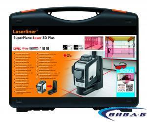 Линеен лазер SuperPlane-Laser 3D + БОНУС тринога FixPod 155 см 2