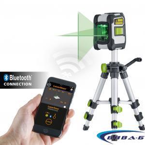 Зелен линеен лазерен нивелир CompactCross-Laser Pro Set 12