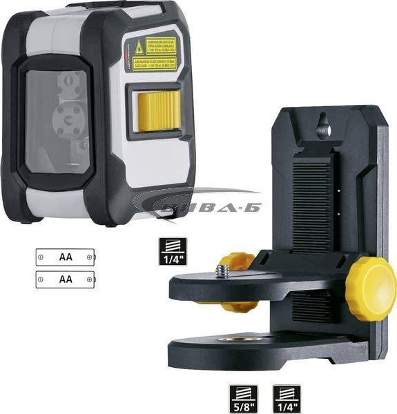 Линеен лазерен нивелир CompactCross-Laser Plus 5