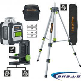 Зелен линеен лазерен нивелир CompactLine-Laser G360 Set