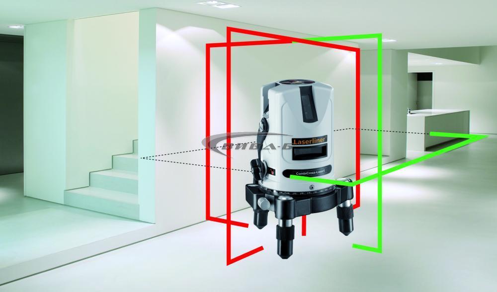 Зелен линеен лазер CombiCross-Laser 5 DLD 2