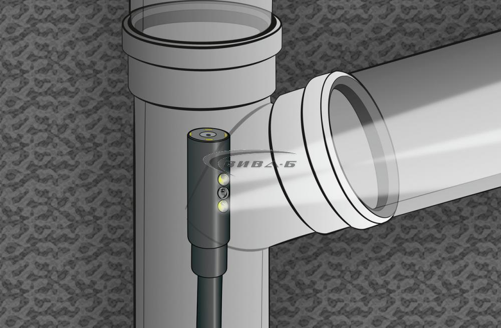 "Видеоконтролер Laserliner VideoFlex G4 Duo 9мм, 1.0м, 3.5"" 5"