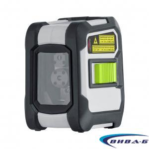 Зелен линеен лазерен нивелир CompactCross-Laser Pro Set 1