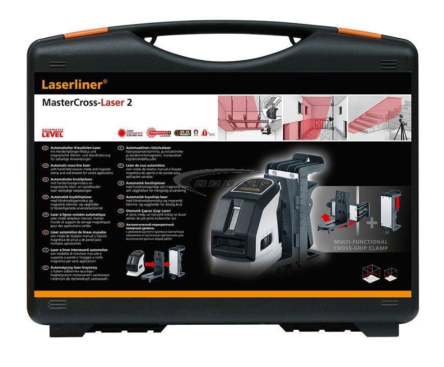 Линеен лазер MasterCross-Laser 2 + БОНУС Walther PRO HL17 9
