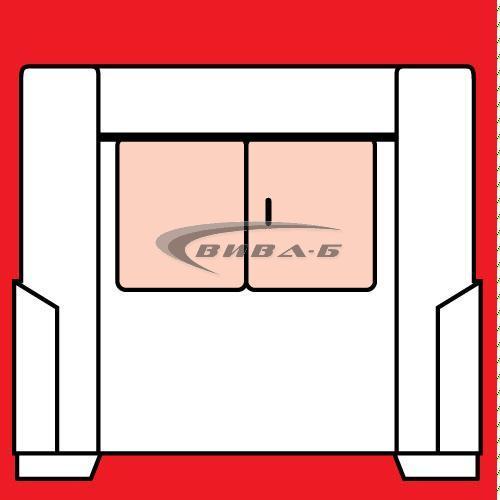 Абразивен диск за зъбошлайф REISHAUER F1Z 82A100 300x125x160-M4 2