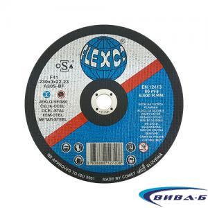 Карбофлексов диск за рязане на метал SwatyComet Flexco 230х3х22