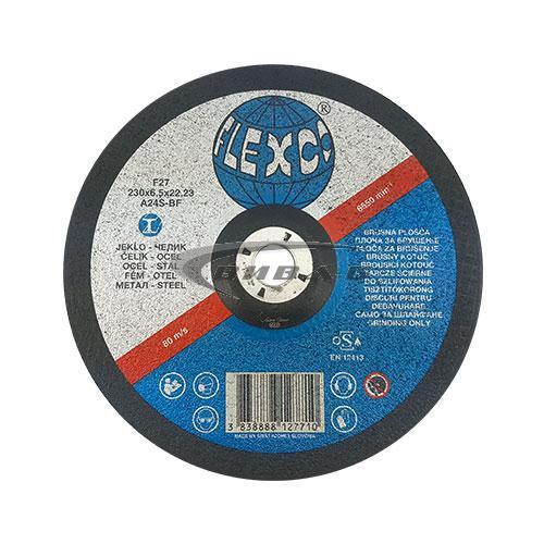 Карбофлексов диск за шлайфане на метал SwatyComet Flexco 230х6х22