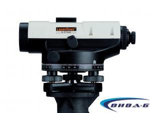 Оптичен нивелир Laserliner AL 26 Classic комплект с тринога и лата 4