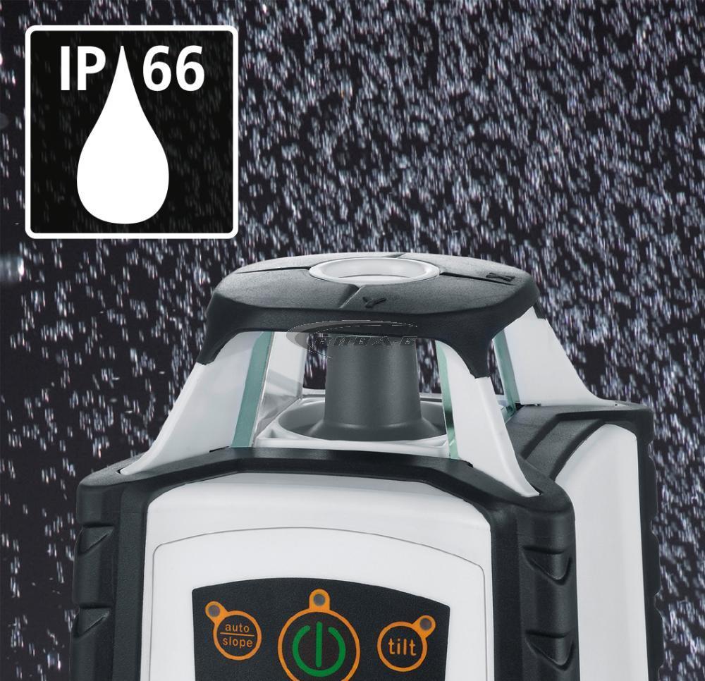 Зелен ротационен лазер Cubus G 210 S в комплект със статив 150 см и телескопична нивелираща лата LT 4м 3