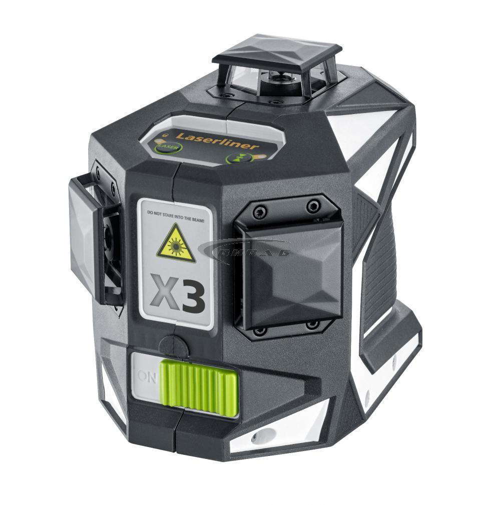 Зелен линеен лазер X3-Laser Pro в комплект с тринога VarioStand L300 2