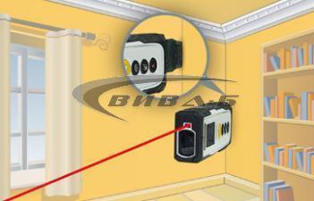 Лазерен далекомер-ролетка Laserliner DistanceCheck 3