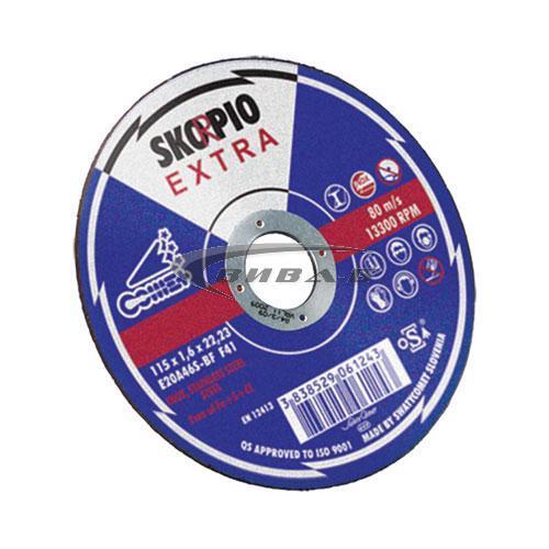 Карбофлексов диск за рязане на инокс SwatyComet Skorpio Extra 125х1х22