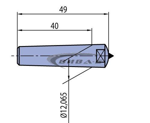 Диамантен изравнител Morse MK1 K101 1.50kt