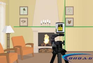 Линеен зелен лазерен нивелир EasyCross-Laser Green 1