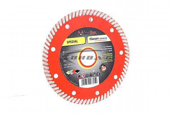 Супер тънък диамантен диск за рязане на керамика Toroflex  Special 125х22