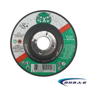 Карбофлексов диск за шлайфане на неметал SwatyComet Flexco 115х6х22