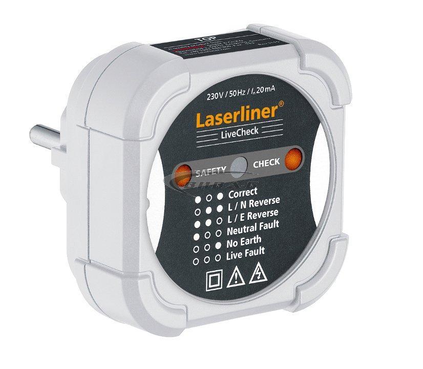 Тестер за електрически инсталации LiveCheck 1
