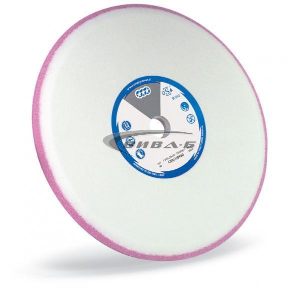 Двуслоен абразивен диск за заточване на банцингови ленти и триони 150х10х32