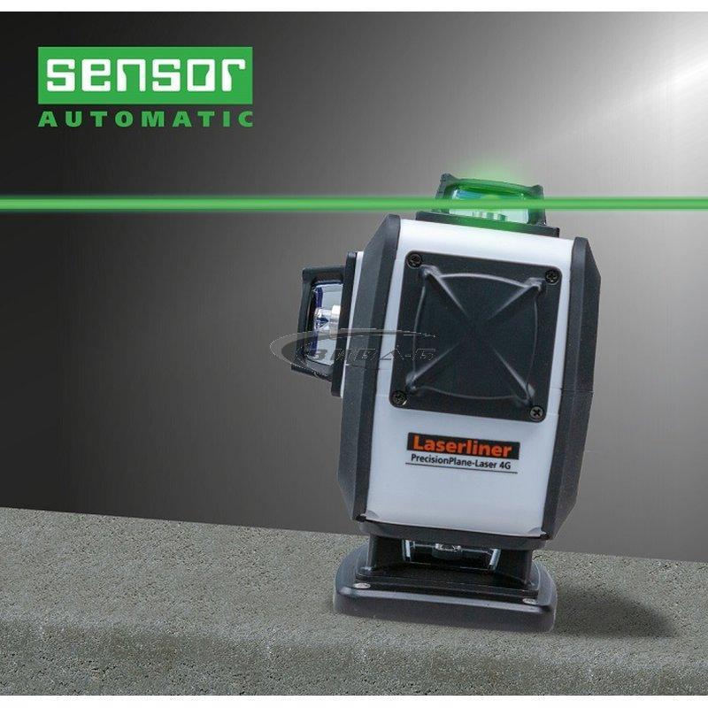 Зелен линеен лазер PrecisionPlane-Laser 4G Pro 6