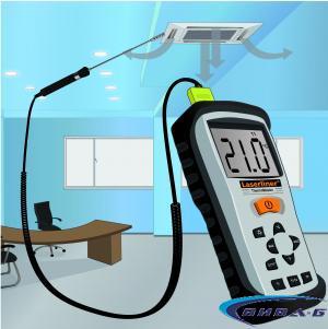 К-тип температурен сензор Laserliner ThermoSensor Air 1